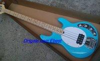 Wholesale HOT SALE strings bass guitar blue bass guitar music man string guitar