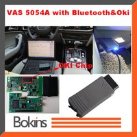 Wholesale 2015 Newest VAS A OKI Full Chip ODIS VAS5054A Bluetooth USB VAS A Supports UDS Protocol Car Diagnostic Tool