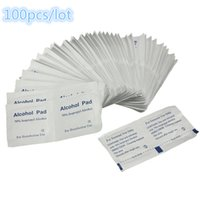alcohol eye - Low Price and High Quality Antiphlogosis Isopropyl Alcohol Swab Pads Piece Wipe Antiseptic Skin Cleaning Care Home