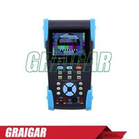 Wholesale New HVT quot Full view TFT LCD CCTV Tester PTZ Multimeter and Visual fault detector