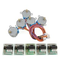 Cheap 1 SET Stepper Motor 28BYJ-48 5V DC 4-Phase 5-Wire + ULN2003 Driver Board