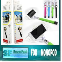Wholesale Monopod Multi function foldable all in one monopod have color black blue green pink Suitable model with IOS or above