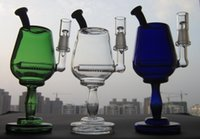 goblet - 2015 New cm height Wine Cup Glass smoking pipes Goblet Galss bongs Glass Oil Rig Joint size mm SL15061