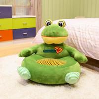 big green sofa - Dorimytrader cm X cm Lovely Stuffed Soft Big Cartoom Animal Tatami Sofa For Kids Models and Nice Gift DY60345
