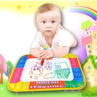 Wholesale 4 colors Magic Water Doodle Mat with Magic Pen Water Drawing Board Water Mat YE01019