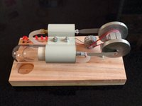 alcohol combustion - Stirling engine external combustion engine model steam engine model Alcohol scientific experiments making