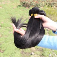 Brazilian Peruvian Malaysian Indian Hair human hair extension - Promotion A inch Unprocessed Human Straight Hair Weave Brazilian Peruvian Malaysian Indian Virgin Human Hair Extensions