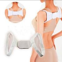 Wholesale Adjustable Back Shoulder Posture Corrector Support Vest Unisex Chest Belt Posture Shoulder Corrector Spine Retail Package