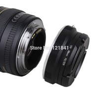 Wholesale 3In1 Camera Macro Lens Reverse Adapter Protection mm Lens cap mm UV Filter for Canon D D D D D D D