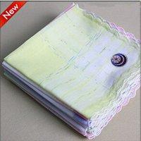 Wholesale 6pcs cm cotton kids Ladies women s handkerchief pocket squares younger gift
