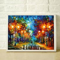 Wholesale 100 Painted Textured Top Quality Modern Oil Painting On Canvas Painted By Knife Home Decoration Wall Art JL014