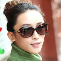 new model sunglasses - 2015 Hot new polarized sunglasses for women star models UV400 UVB protection fashion sunglasses with rhinestone