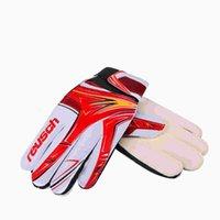 al por mayor brazuca-Alta calidad profesional Brazuca balón de fútbol protector guardia guantes de portero guantes de portero YC007