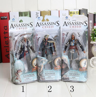 Finished Goods assassin toys - Assassins Creed cm Black Flag Connor PVC Action Figure Collection Model Toy new arrival