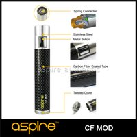 Cheap Wholesale-100% Origina Aspire E Cigarettes CF Mod Battery work with 18650 Battery fit for Aspire Atlantis Tank Free-shipping