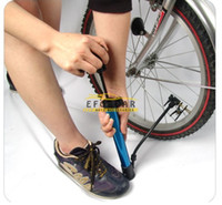 Wholesale Good Quality Multi functional Portable Mini Aluminum Alloy Mountain Bike Bicycle Pump with Adapters Inflatable Cycling Air Pump