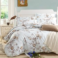aqua comforters - New Arrival Heidi Garden Home Textiles Aqua Luxury Wedding Duvet Cover Cotton Twill Print Comforter Set