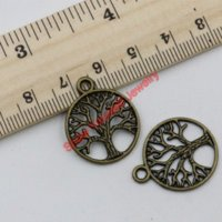 antique auto horns - Antique Bronze Tone Tree of Life Charms Pendants for Jewelry Making DIY Handmade Craft X20mm charm auto