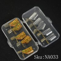 Wholesale 2sets Reusable Dual Silver Gold Nail Form For Nail Art Making C Curve Acrylic French Tips Nail Art Care Salon Tool NA033
