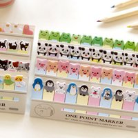 Wholesale 36 One point marker Post it notes Animal memo paper zakka bookmarks stationery office supplies School supplies