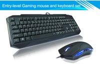 Wholesale 2015 year Waterproof USB Latest Wired gaming keyboard and mouse