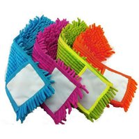 Wholesale Mops Head Floor Cleaning Chenille Mop Head Home Dust Refill Microfiber Top Household Replacement JG0002