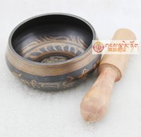 Wholesale YOGA Tibetan Singing Bowl HIMALAYAN hand hammered CHAKRA MEDITATION Religion Belief