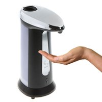 Wholesale 400ML Handsfree Automatic IR Sensor Soap Liquid Sanitizer Dispenser For Bathroom Kitchen