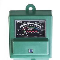 Wholesale New in Soil Water Moisture Light Test Meter PH Tester for Garden Plant Flower Home Gardening High Quality