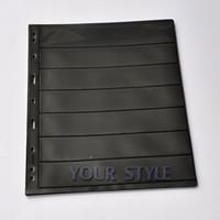 Wholesale 1509 NO Seven lines X CM10 Album Pages parper Money Note Currency Holder Collection PVC