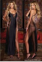 Wholesale Summer hot Sexy lingerie Dress sexy appeal Black Sexy Dresses Free size B packages mailed