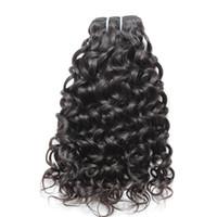 Paquetes brasileños del pelo El pelo humano de la Virgen de Remy tiende las extensiones Trama doble 7A Olor del pelo del pelo del visión Bellahair
