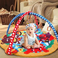 Wholesale multifunction baby blanket crawling game pad fitness frame children s educational baby toys birthday gift