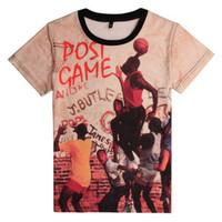 basketball flash game - New fashion men s d print Kobe Bryant USA all star basketball sports game t shirt men funny t shirt Harajuku tees