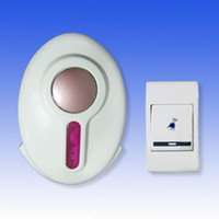 ac dc bell - 9520FD Wireless Digital Doorbell melody Remote Control Electronic Door Bell Chime DC AC in retail package