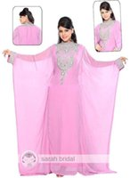 Cheap Arabic Kaftan Dresses Best Chiffon Evening Gowns