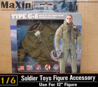Wholesale In stock Type G8 G Common Flight AVIATOR Jacket U S Navy U S A F Coat for quot Action Figure Toys