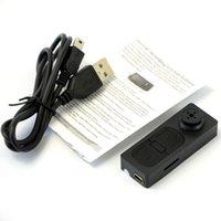 Cheap Free shipping Black mini camera NEW Mini spy button camera Hidden DV Camera Button Video PC Spy DVR Voice Recorder HD DVR Cam 1280*960 A0060