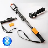 Wholesale YT NEW Extendable Bluetooth Selfie Stick Handheld Extendable Wireless Monopod Built in Bluetooth Shutter Compatible with mobile phone