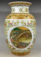 porcelain vase - Old Collectible China Porcelain Handwork Very Rare Vase