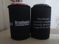 Wholesale BIG SALE Customized LOGO Print Stubby Holder Beer bottle Cooler Customer Logo Printing
