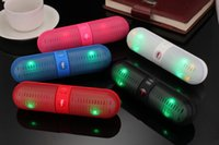 pa speaker - 2015 new pill Bluetooth speakers Portable Wireless Bluetooth Speakers Active Speaker Support TF mm Audio Handsfree For Phone PC Tablet PA