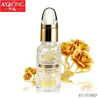 Wholesale Aqiong k Pure Gold Foil Essence Hyaluronic Acid Liquid Cream Whitening Moisturizing Anti Aging