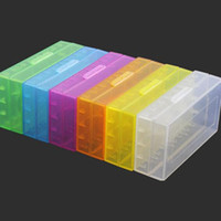 Wholesale mixed color CR123A Battery Case Box Holder Storage case Container