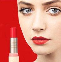 lip balm tube - Makeup Lipstick Long lasting Color Optional Classic Lipgloss White Rounded Tube Lip Balm Sweet girl Lip MPT W615