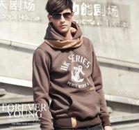 brand men hoodies jackets - Hot Autumn Winter Fleece Cardigan Hoodie Jacket Fashion Brand Hoodies Men Casual Slim Sweatshirt Men Sportswear Pullover Hooded