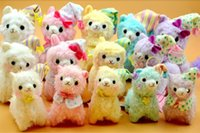 alpaca gift - 10pc Mixed Color cm Good Night Alpaca Japan Amuse Alpacasso Arpakasso Plush Stuffed Doll Kids Alpaca Christmas Gifts Toy