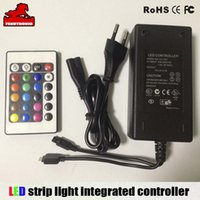 Wholesale colorful strip light power adapter V A Integrated controller remote CE GS TUV UL adapter v