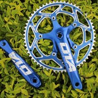 Wholesale New Ota Advanced Single Speed Fixed Gear Crankset t Cnc Crankset Fixed Gear Aluminum Racing Bicycle Crankset t Crankset