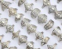 bulk lots - Jewellery Bulks Mixed Vintage Hollow Tibet Silver P Rings